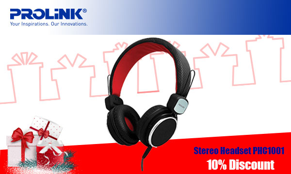 Prolink Stereo Headset