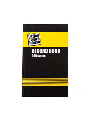 Record & Activity Books