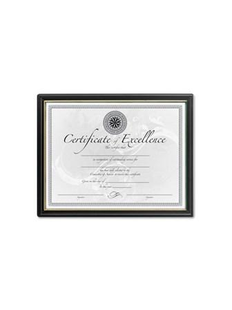Frame Certificates