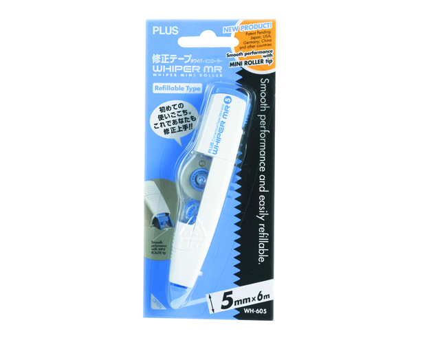 Plus Correction Tape WH605/WH615 Whiper 5mm x 6m