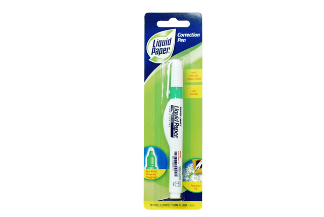 Papermate Correction Pen White 7ml