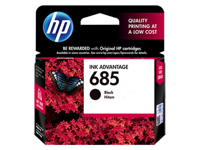 HP 685 Ink Cartridge HPCZ121AA Black