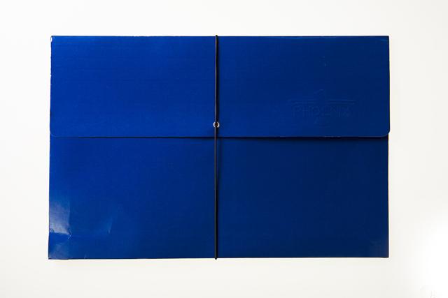 Expanding Envelope W Elastic Blue Legal Office Warehouse