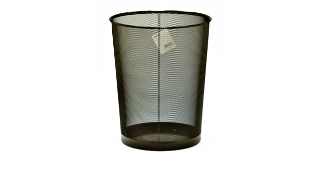 Eagle Waste Can TY196 Black Medium | Office Warehouse, Inc.