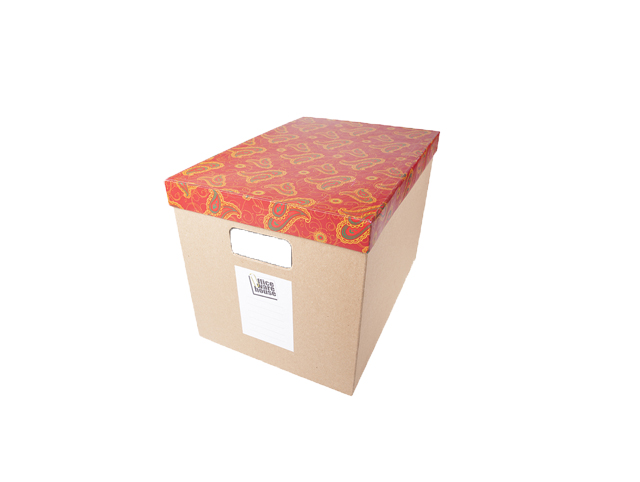 Office Warehouse Storage Box  Assorted Top Cover Kraft 11 x 16