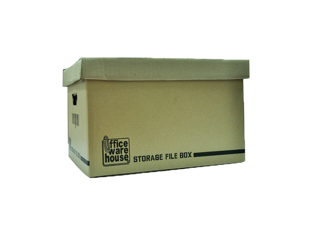 Office Warehouse Storage File Box 175LBS Brown 12 X 16 in.