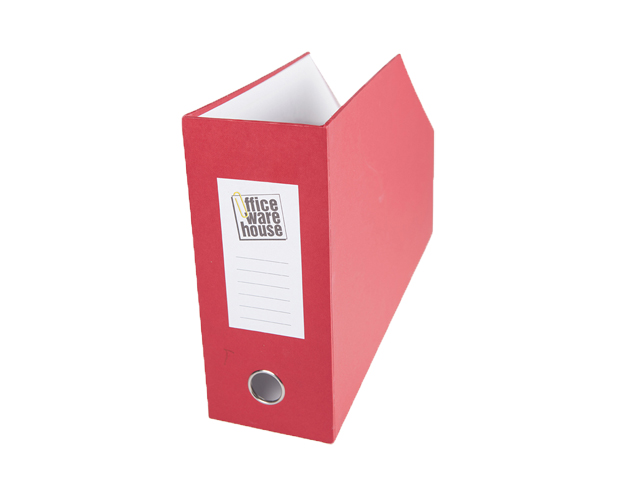 Office Warehouse Magfile Closed Horizontal Red Legal