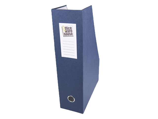 Office Warehouse Magfile Closed Vertical Blue Legal