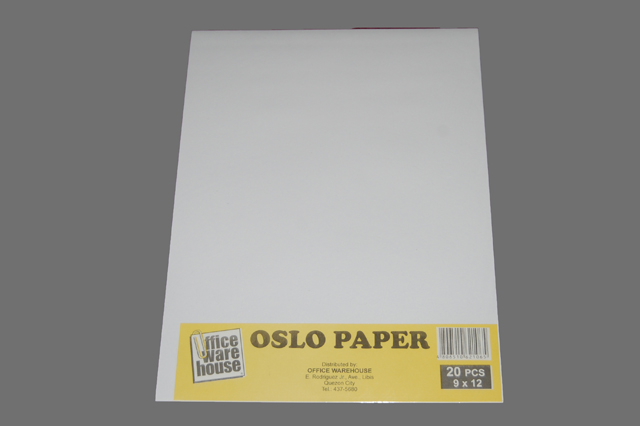 Office Warehouse Oslo Paper White 9 x 12 20 pack | Office Warehouse