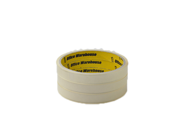 Office Warehouse Celo Tape 3 Core 3 pcs per pack clear 18mm x 20m