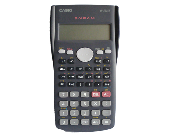 Casio Scientific Calculator Fx82ms 12 Digits Office