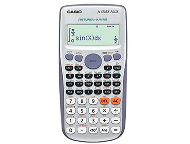 Casio Scientific Calculator FX570ES Plus Black/Silver