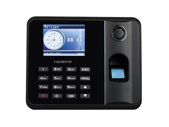 Nideka Bundy Clock Tm2800d Fingerprint Black Office