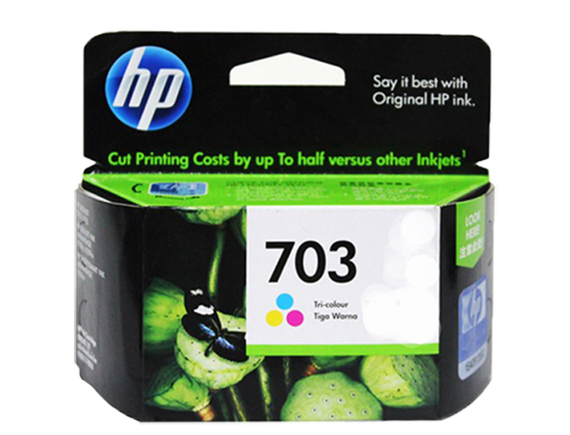 HP 703 Ink Cartridge CD888AA Colored