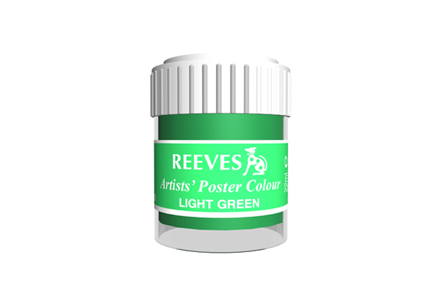 Reeves Poster Color 4854420 Light Green 22ml