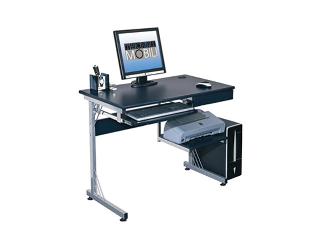 Computer Table Ct 706e Graphite Black