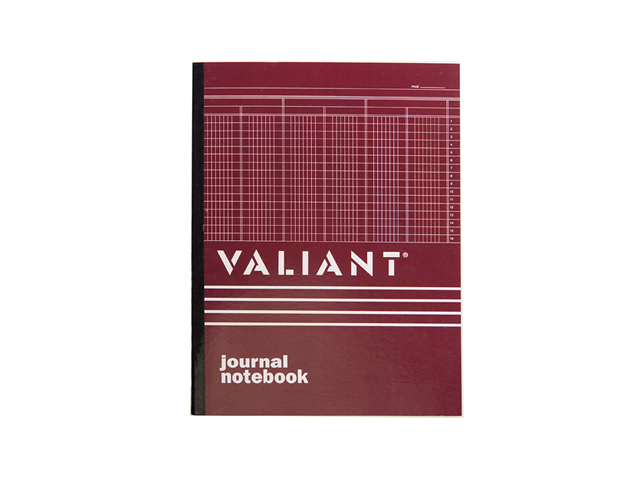 Valiant Columnar Book Journal  50 Leaves 216x280