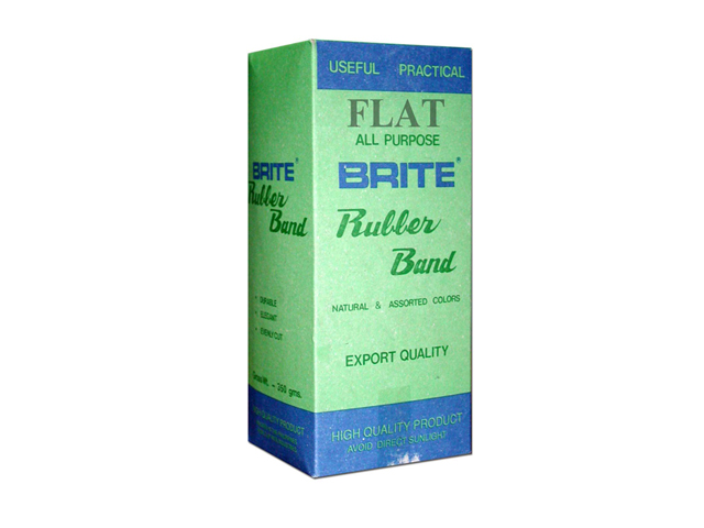 Brite Rubberband Flat Brown 350gms Office Warehouse Inc