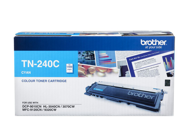 Brother Toner TN-240 Cyan
