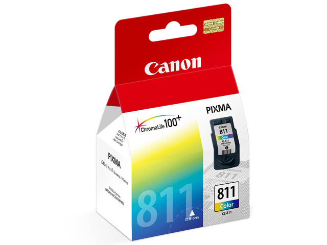 Canon Ink Cartridge CL-811 Colored 9 ml