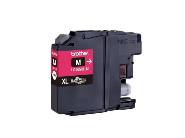 Brother Ink Cartridge LC-565XL High Yield Magenta