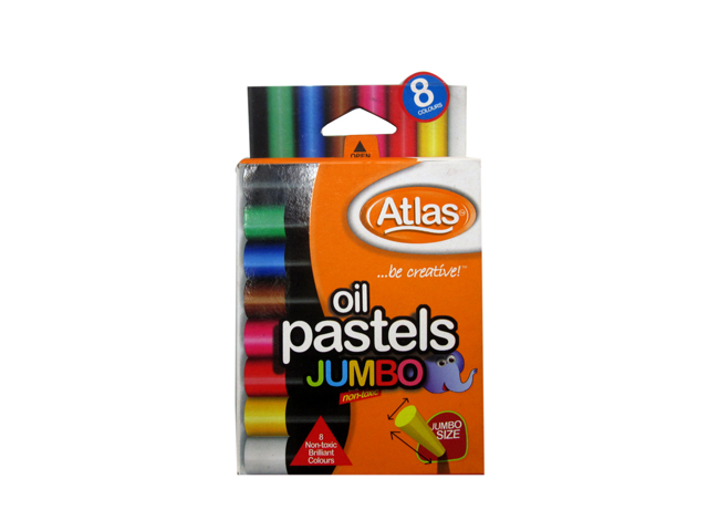Atlas Oil Pastel Jumbo 8 Colors