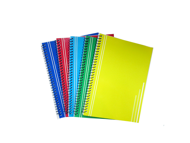 Office Warehouse Notebook Spiral Ccoded w/Plastic 80/Leaves
