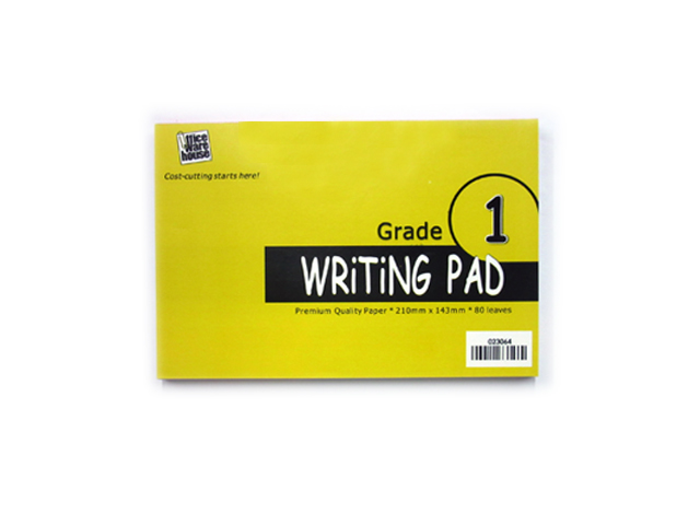 Office Warehouse Grade 1 Writing Pad 80Lvs 2pads/pack