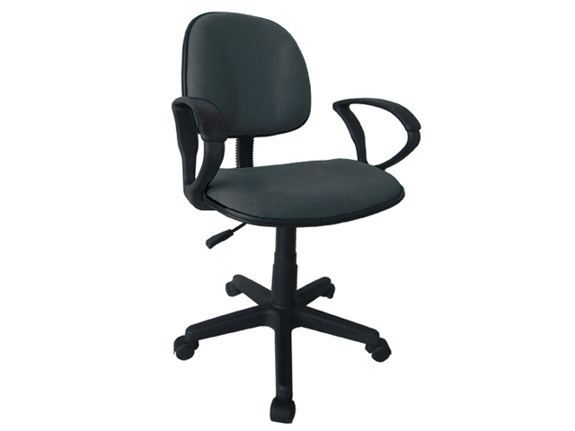 Secretarial Chair Stm 1001w F Gray Office Warehouse Inc