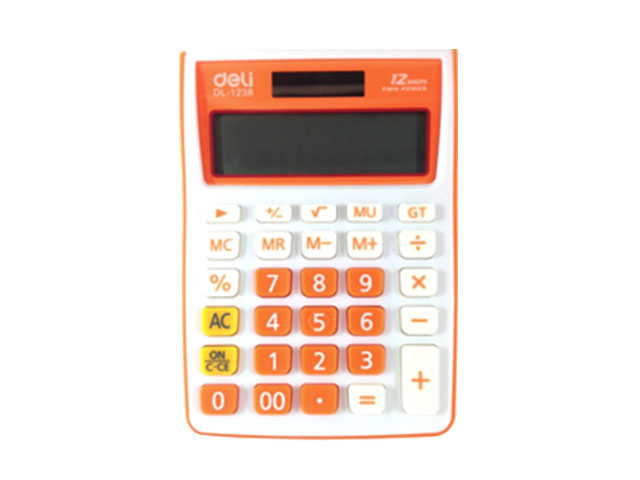 Deli Calculator Standard 1238