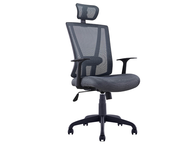 Executive Chair 88789A Mesh with Head Rest Gray