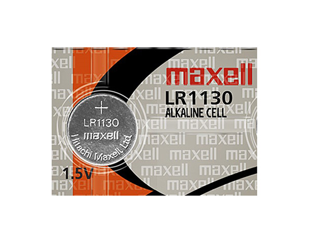 Maxell Battery Lithium Coin LR1130 Silver