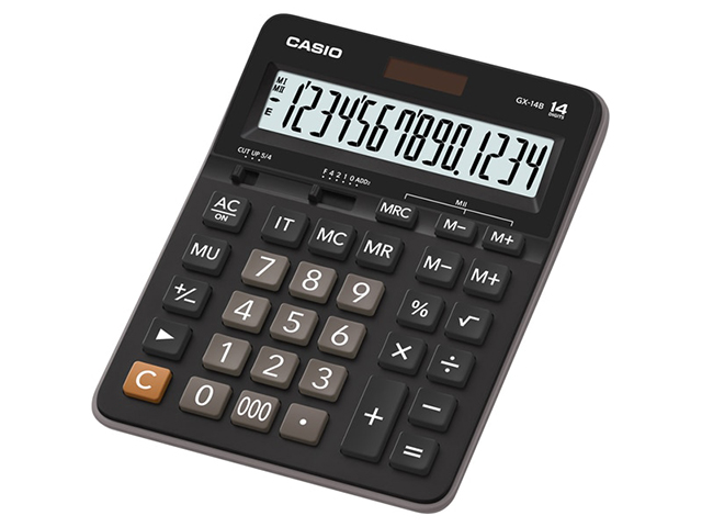 Casio Calculator Standard GX-14B