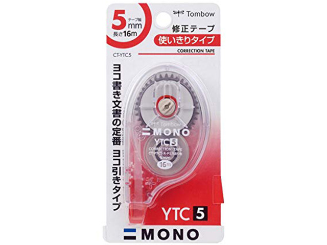 TOMBOW CORRECTION TAPE CT-YTC5 5MMX16M
