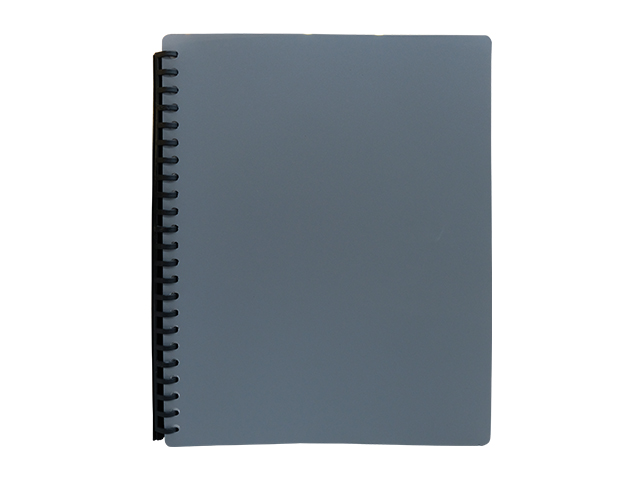 Jodric Clear Book Refillable 2320 Gray A4 20Sheets