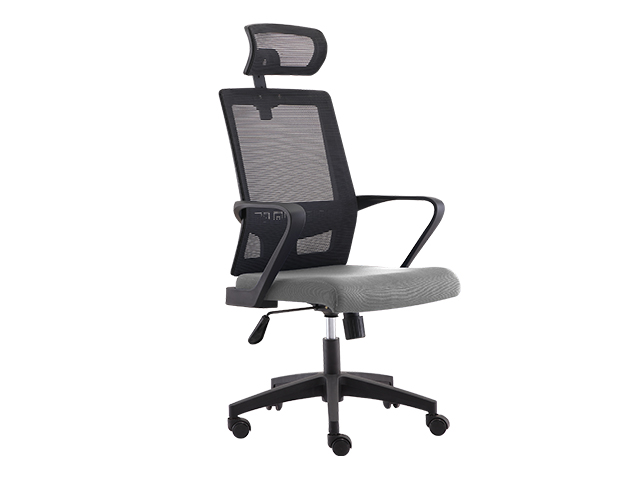 Executive Chair HT-7081A Mesh High Back Gray