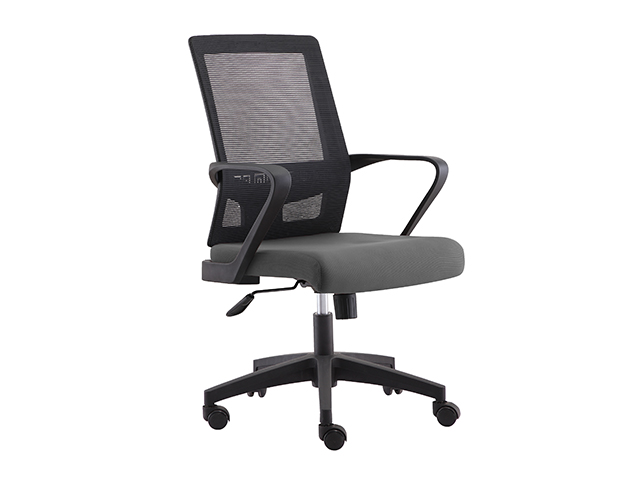 Managerial Chair HT-7081B Mesh Back Gray