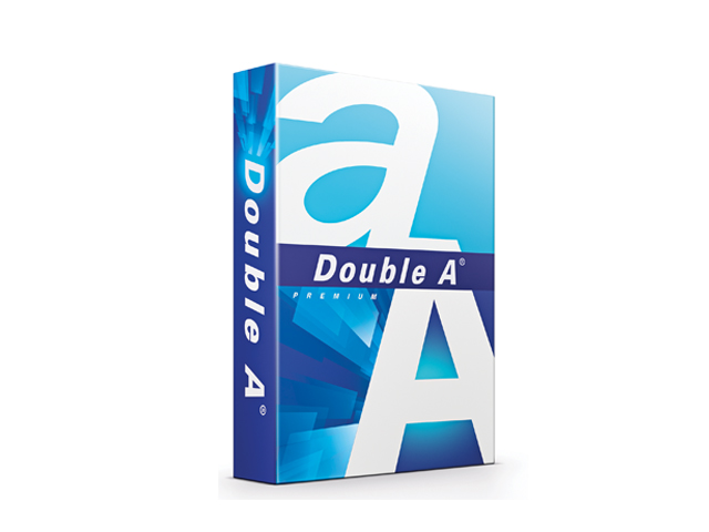 Double A Premium Copy Paper A4 80gsm/s24 with FREE Highlighter
