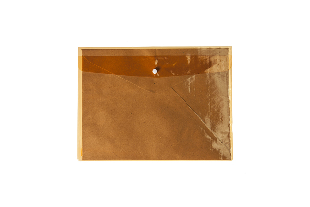 Adventurer Envelope Plastic EC4SB Colored Assorted Button Letter