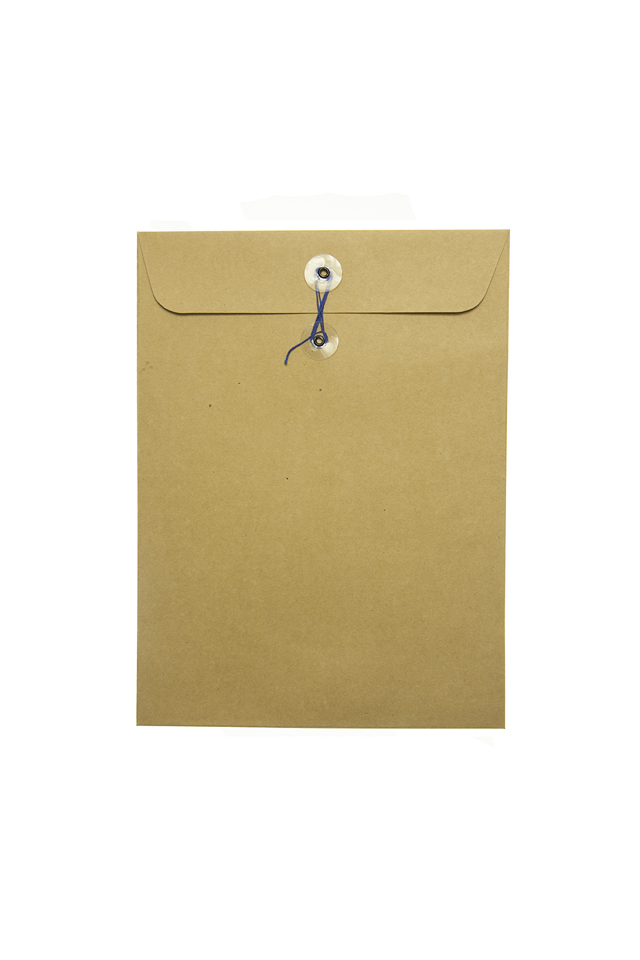 Click Catalog Envelope w/String Kraft 9 x 12
