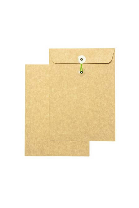 Click Catalog Envelope w/String 250L White/Kraft 7 x 10