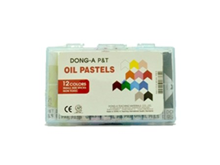Dong-A Oil Pastel 12 Colors 12/box