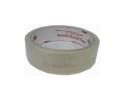 3M Scotch Celo Tape Utility Clear 24mm x 30m