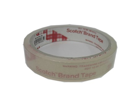 3M Scotch Celo Tape Utility Clear 18mm x 30m