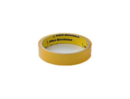 Office Warehouse Celo Tape 3core Yellow 18mm/20m