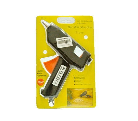 Tiger Glue Gun TB16 Big Black 40 Watts