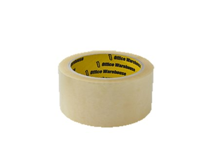 Office Warehouse Packaging Tape Clear 48mm x 80m