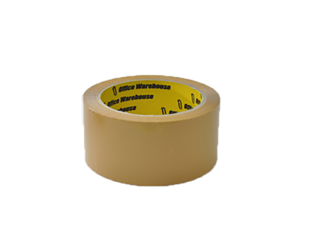 Office Warehouse Packaging Tape Tan 48mmx80m