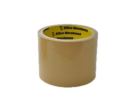 Office Warehouse Packaging Tape Tan 72mm x 40