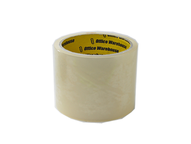 Office Warehouse Packaging Tape Clear 72mm x 40